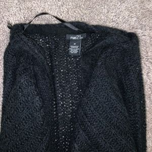 rue 21 black cardigan